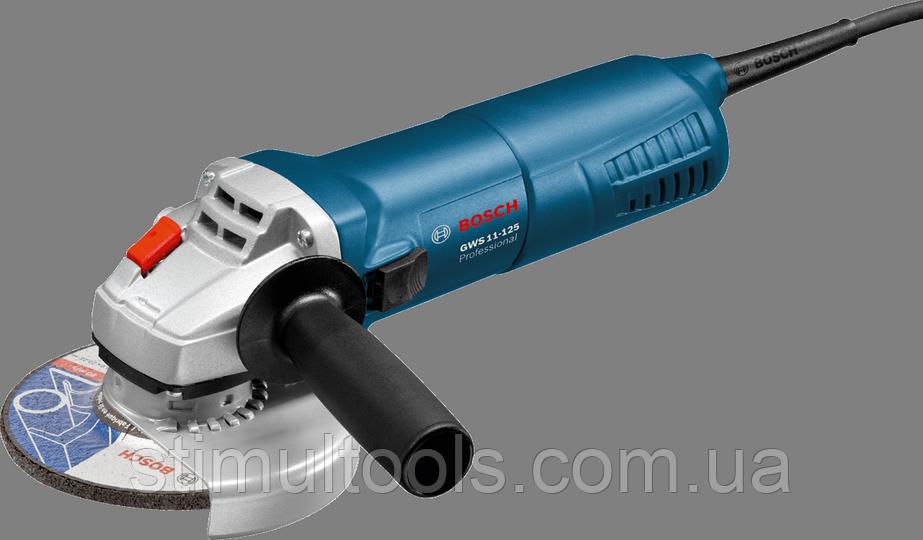 Угловая шлифмашина (болгарка) Bosch Professional GWS 11-125
