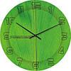 """Большие настенные часы """"Структурный лист"""" (450мм) [Стекло, Открытые]"""