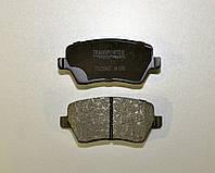 Тормозные колодки передние (R14) на Renault Kangoo II 2008-> Transporterparts (Франция) 04.0151