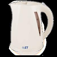 Чайник електричний (1,7 л; подсветка, 2 кВт) ST 45-220-20GF_Беж
