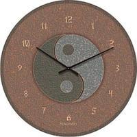 """Часы настенные """"Инь-Янь"""" (450мм) [Стекло, Открытые]"""