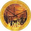 """Часы настенные большого размера """"Картина Джека Терри"""" (450мм) [Стекло, Открытые]"""