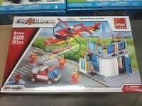 Конструктор Rescue City аналог Lego лего Cити пожарная брегада 361 д