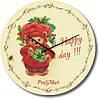 """Часы настенные детские """"Happy day!!!"""" (300мм) [Стекло, Открытые]"""