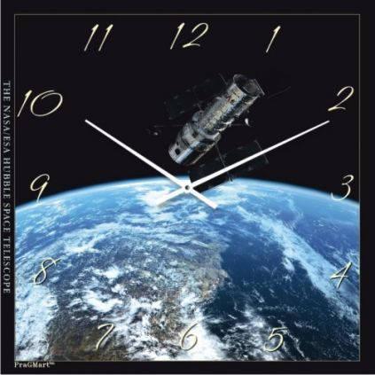 """Часы настенные """"На орбите"""" (450мм) [Стекло, Открытые]"""