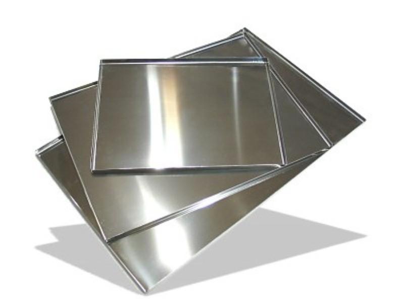 Куски алюминиевого листа 27 мм АМГ6