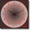 """Часы настенные """"Объемная сетка"""" (300мм) [Стекло, Открытые]"""