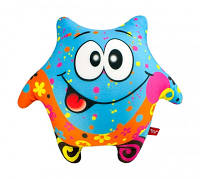 Мягкая игрушка антистресс Звезда синяя 23х23 см