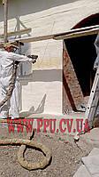 Утепление стен и фасадов пенополиуретаном