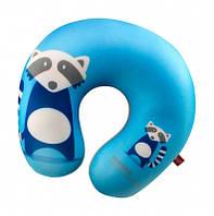 Мягкая игрушка антистресс подушка енот 28х28 см
