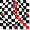 """Часы настенные """"Черный-белый-красный"""" (350мм) [Стекло, Открытые]"""