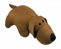 Мягкая игрушка антистресс Собачка коричневая 30х25 см