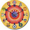 """Часы настенные детские """"Футбольный мяч"""" (300мм) [Стекло, Открытые]"""