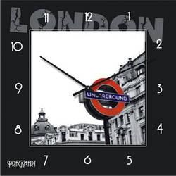 """Часы настенные """"Лондон"""" (300мм) [Стекло, Открытые] PraGMart"""