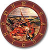 "Кухонные настенные часы ""Натюрморт"" (450мм) [Стекло, Открытые]"
