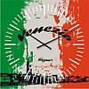 """Часы настенные """"Флаг Венеции"""" (350мм) [Стекло, Открытые]"""