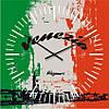 """Часы настенные """"Флаг Венеции"""" (300мм) [Стекло, Открытые]"""