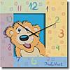 """Часы настенные детские """"Мишка"""" (300мм) [Стекло, Открытые]"""