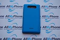 Задняя панель корпуса для мобильного телефона Nokia 820 Lumia Голубая