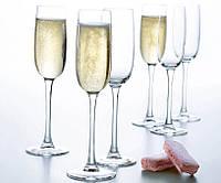 Набор бокалов для шампанского (6шт/ 160 мл) Luminarc Versailles  G1484