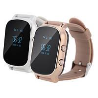 Смарт часы-телефон с GPS T58 GOLD, SILVER. Премиум дизайн! +НАСТРОЙКА, ГАРАНТИЯ!
