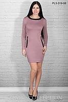 Стильное платье  ПЛ3-319 (р.44-50), фото 1