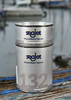 SEAJET 132 финишная полиуретановая краска двухкомпонентная темно-синяя 1л