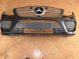 Передний бампер Mercedes GLE-Coupe C292 AMG, оригинал б/у