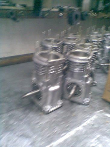 Компрессор ПАЗ водяного охлаждения 3205-3509009, фото 3