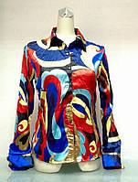 Рубашка женская Volccno цветная, фото 1