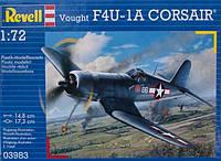 Палубный истребитель F4U-1A Corsair; 1:72; Revell