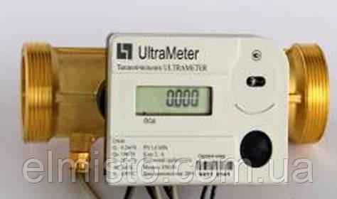 """Лічильник тепла ультразвукової UltraMeter UM-32 Dn32 1¼"""" + M-Bus, компактний промисловий"""