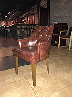 Кресло -Тиффани-. Деревянный, мягкий стул для кафе, ресторана., фото 1