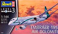Пассажирский самолет Embraer 195 AIR DOLOMITI, 1:144, Revell