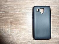 Накладка чехол для телефона Lenovo A238T черный силиконовый