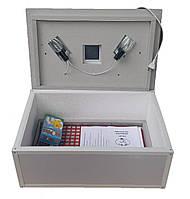 Инкубатор для перепелиных яиц Цыпа ИБР-100Ц, с ручным переворотом (цифровой терморегулятор) М