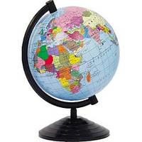 Глобус Земли 260мм. полит в кор ГП 26