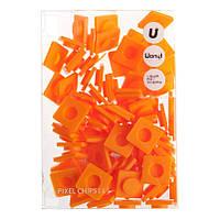 Пиксели Big оранжевые, 80 шт., Upixel