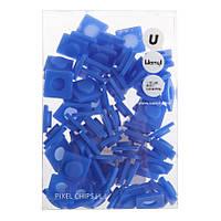 Пиксели Big синие, 80 шт., Upixel