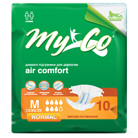Подгузники для взрослых MyCo M №10