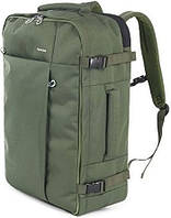 """Классный рюкзак для путешествий 38 л. и ноутбука 17,3"""" Tucano TUGO' L CABIN (green) BKTUG-L-V зеленый"""