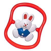 Погремушка кролик вращающийся (в красной жилетке), Tolo