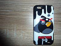 Чехол накладка для телефона HTC One V / T320e Angry Birds