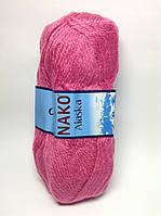 Пряжа alaska nako - цвет темно-розовый