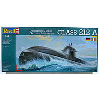 Подводная лодка (2003г.,Германия) New German Submarine U212 (+ IT Version), 1:144, Revell