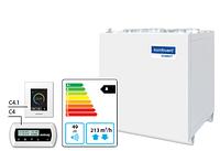 Domekt CF 250 V вентиляционная установка с высокоэффективным пластинчатым теплоутилизатором