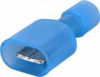 Наконечник соединитель изолированный серии FN e.terminal.stand.mdfn2.250.blue (fn.m.1,5.2,5) 1,5-2,5 кв(100шт)