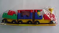 """Конструктор для малышей """"Волшебный поезд"""" ,23ел,330*90*55мм,Технок.Детский конструктор ТехноК Волшебный поезд"""
