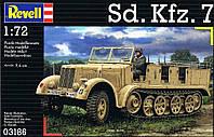 Полугусеничный тягач (1938г., Германия) Sd.Kfz. 7; 1:72, Revell