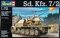Полугусеничный тягач Sd.Kfz. 7/2 (1938г, Германия), 7/2, 1:72, Revell